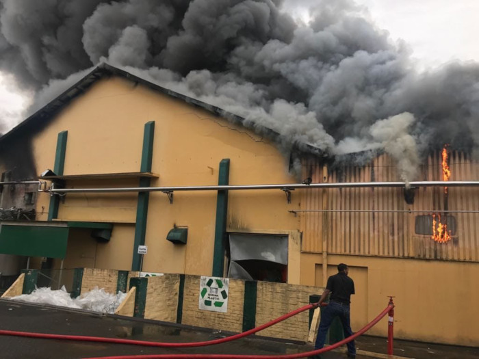 KWV In Paarl Up In Flames photo