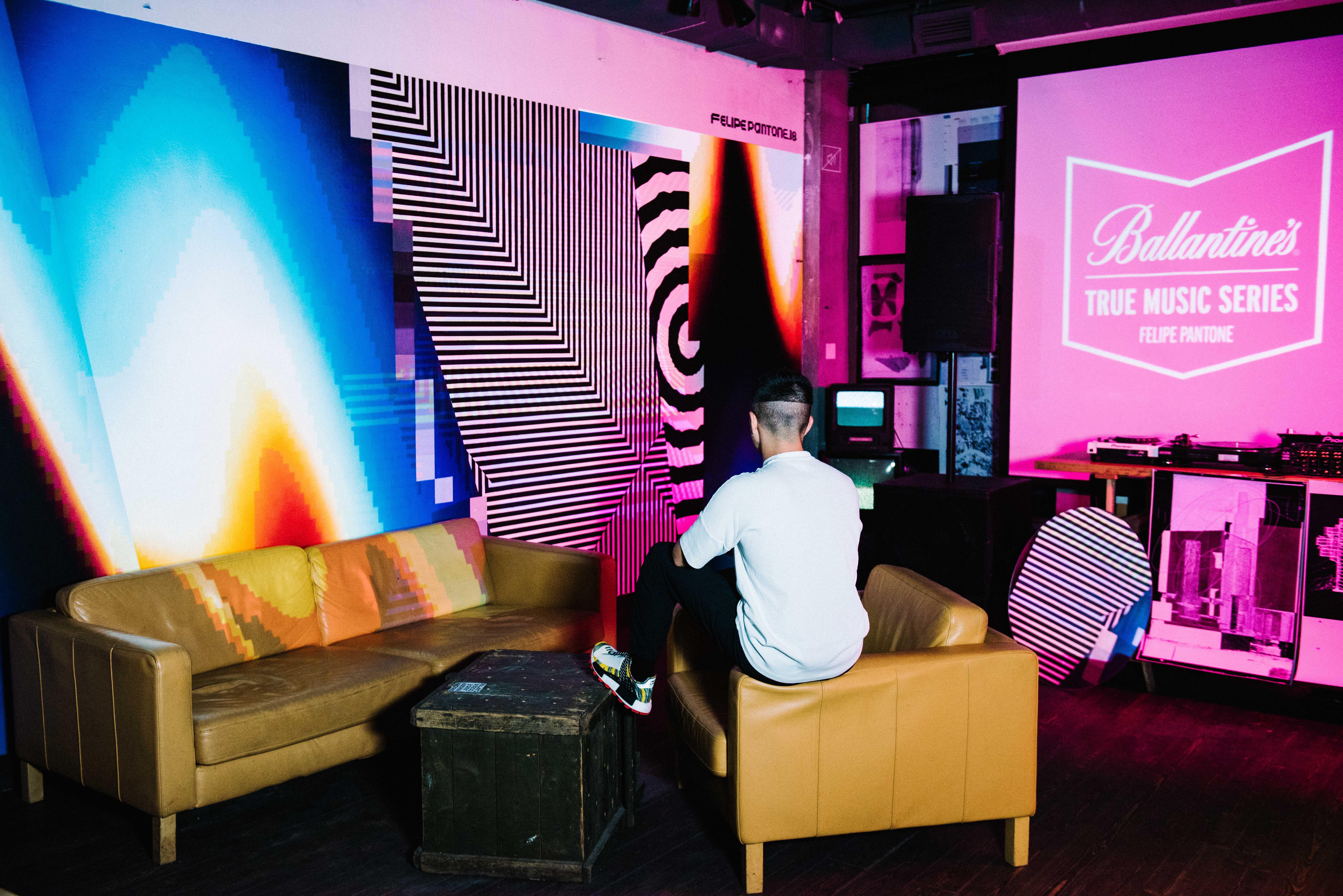 Ballantine's True Music Series X Felipe Pantone photo