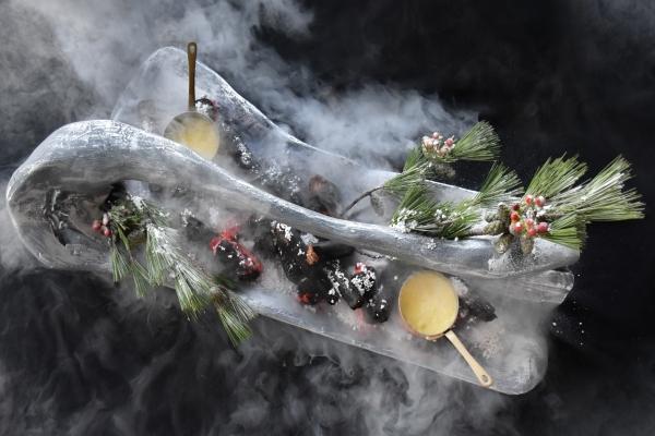 A Christmas For The Senses At Stellar At 1-altitude?s Dom Pérignon Plénitude Suite photo
