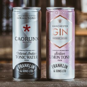 Franklin & Sons Extends Canned G&t Range photo