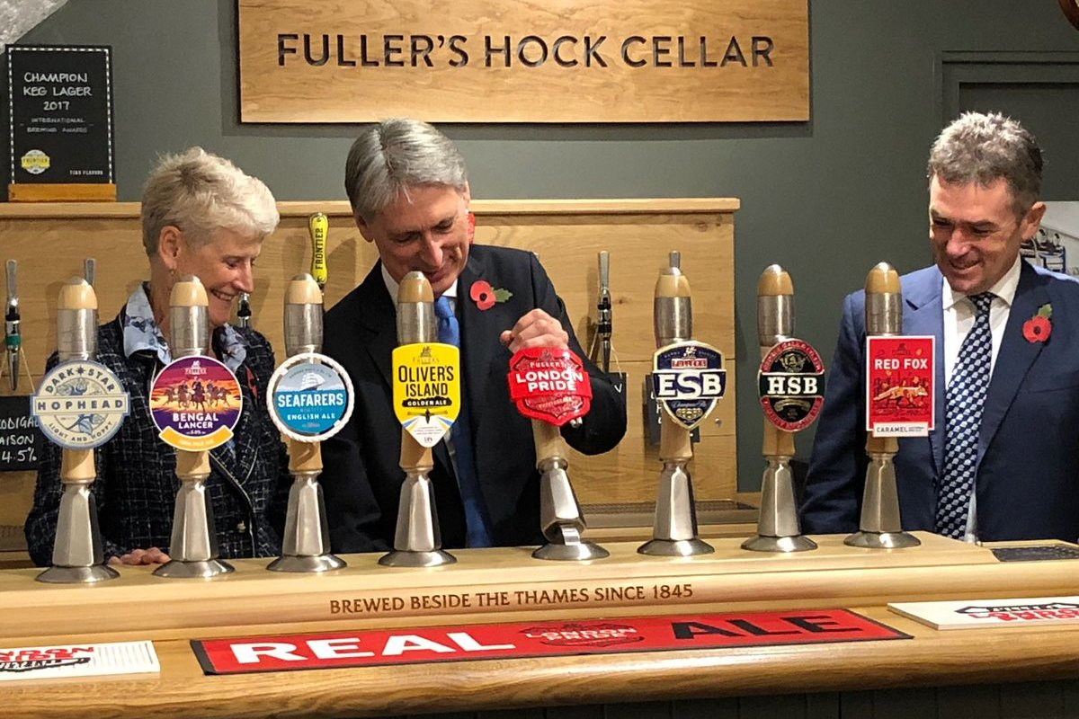 Chancellor Thanked For Support During Fuller's Visit ? Beer Today photo