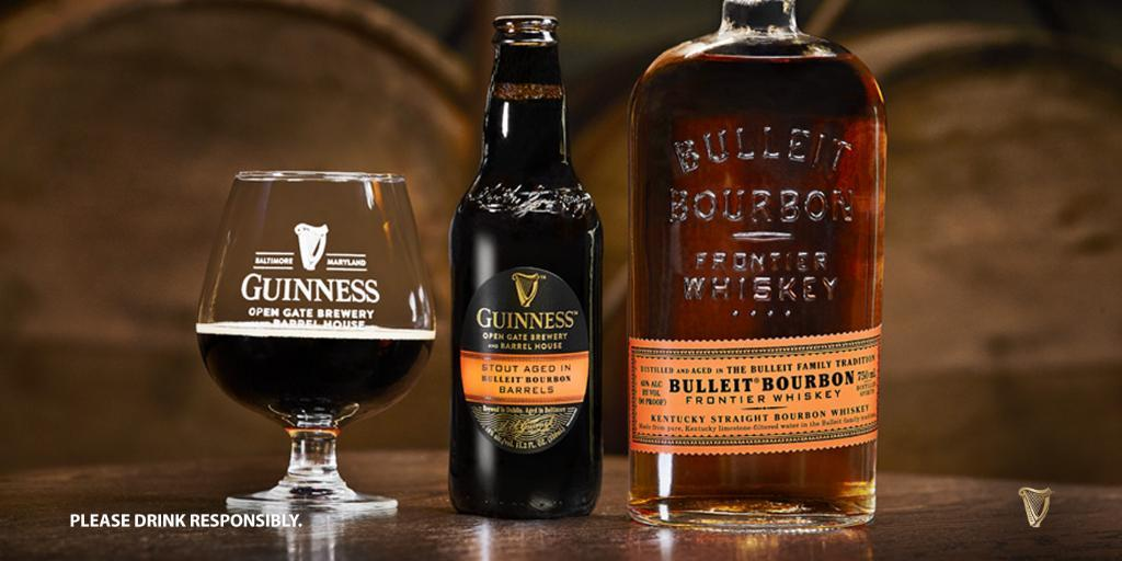 A Bourbon Barrel-aged Guinness Will Release In The U.s. Soon photo