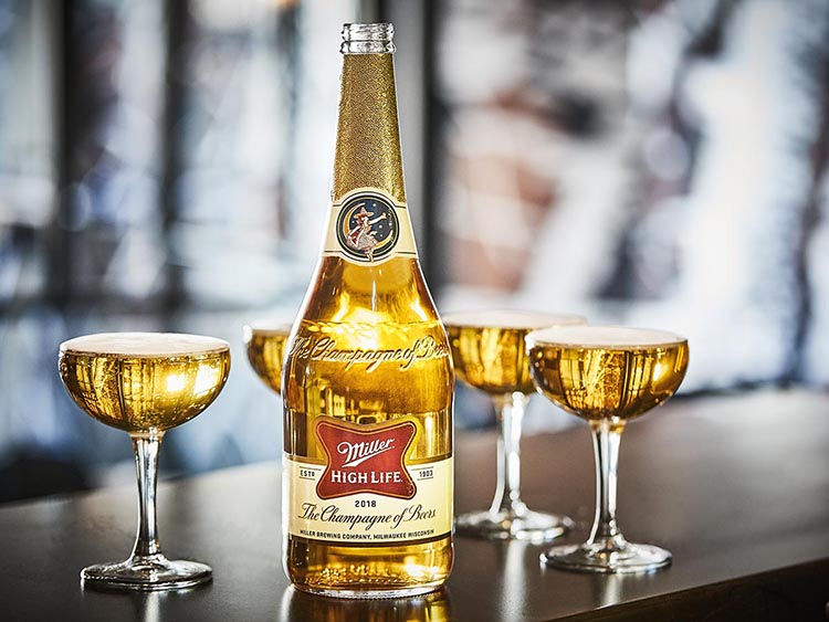Miller High Life Is Releasing Limited Edition Champagne Bottles photo