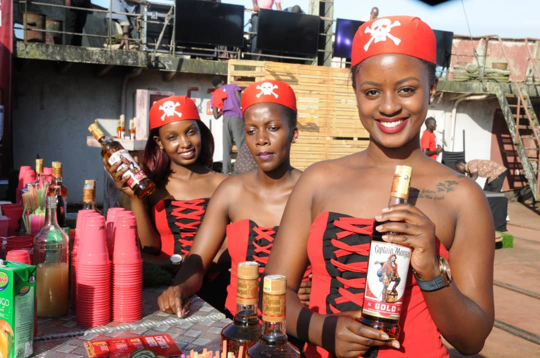 Ubl Launches 'captain Morgan Gold' Rum On Ugandan Market photo