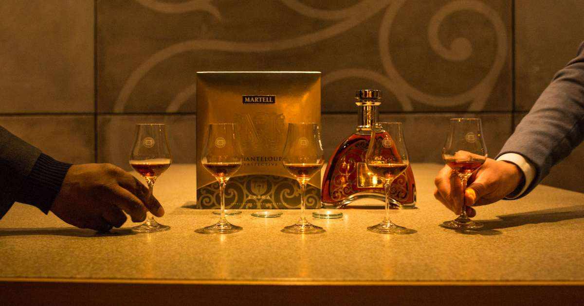 Martell Hosts Partners At Chateau De Chanteloup In France photo