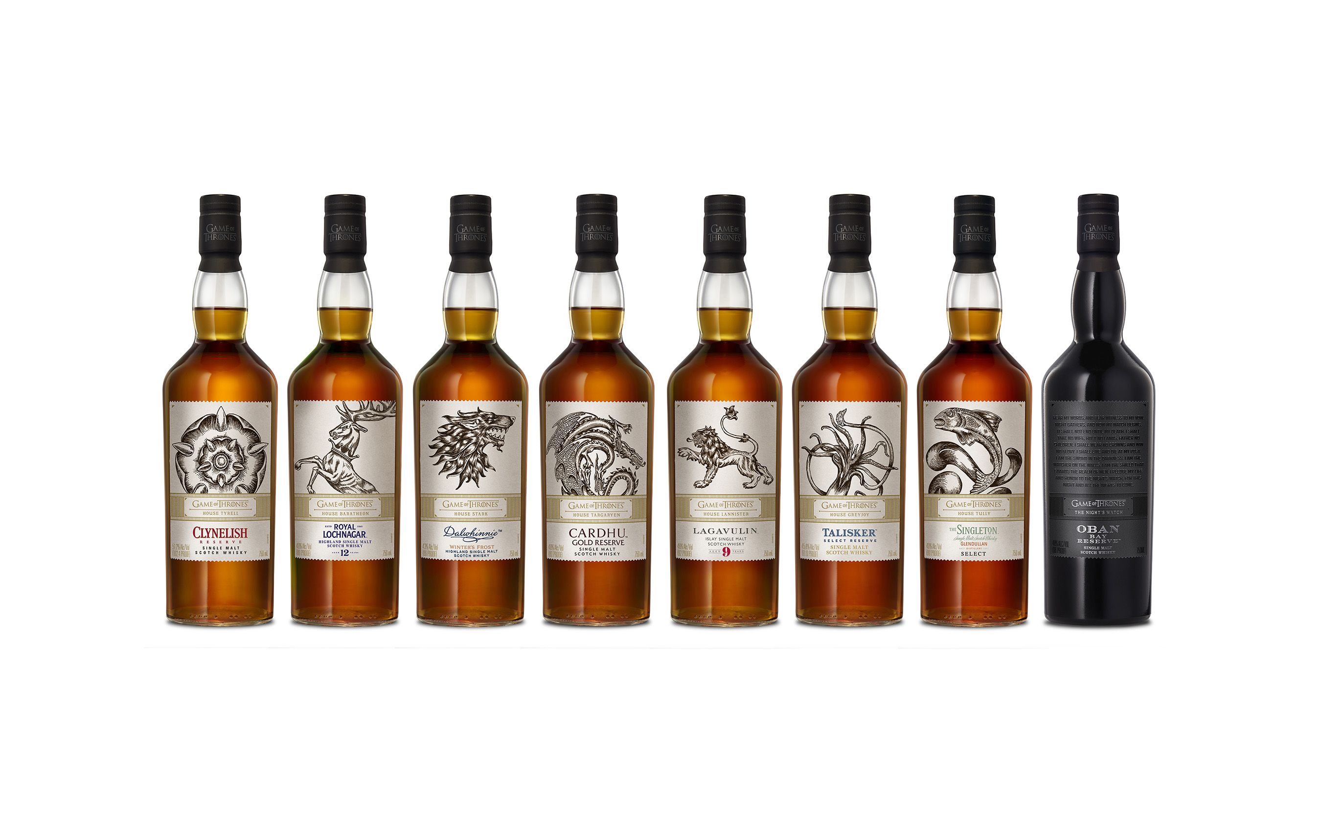 Game Of Thrones Whisky Is Here, One Bottle For Every Season photo