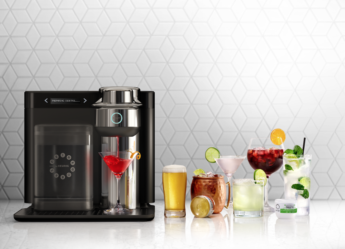 Keurig?s Pod-based Home Bar Mixes Up Cocktails, Beer, And Cider On Your Counter photo