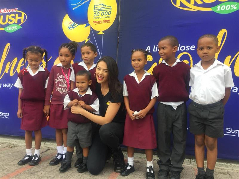 Lalla Hirayama And Clover Krush On A Mission To Donate 20 000 School Shoes In 2019 photo