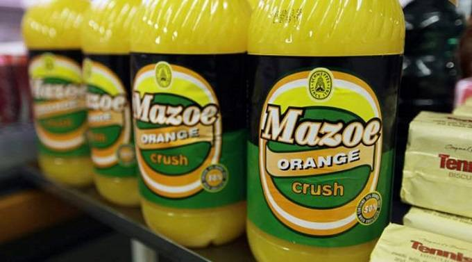 Schweppes Hikes Mazoe Orange Crush Retail Price ? Nehanda Radio photo