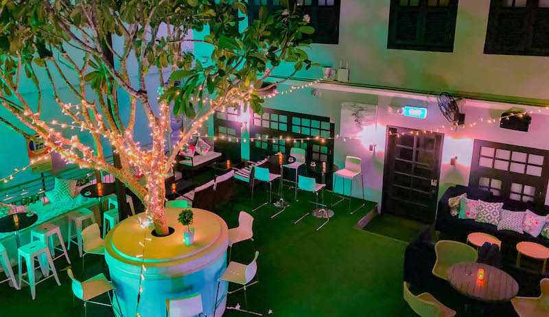 Pretty In Pink On Ann Siang Hill: New Rooftop Bar Pandora's Garden Serves All Kinds Of Rosé Wines photo