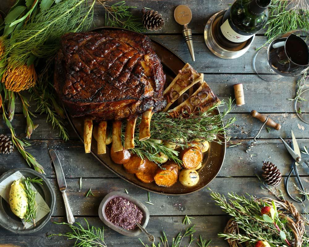 Festive Recipe: Beef Prime Rib on the Bone photo