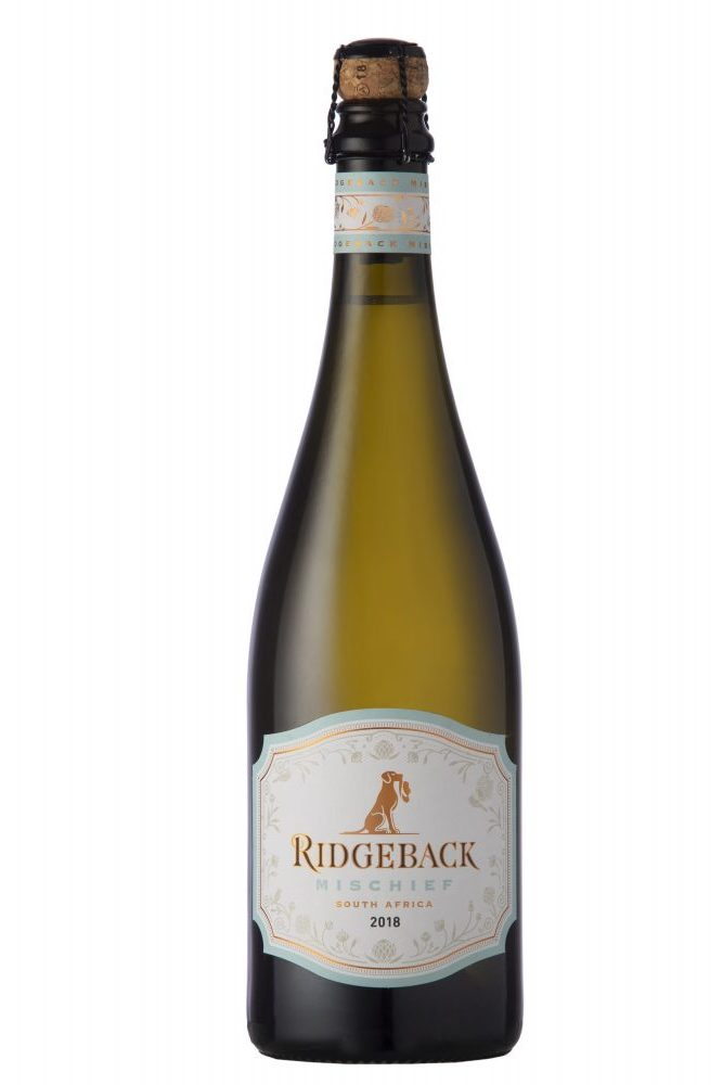 Ridgeback Mischief 2018 20181017 0324 002 e1542354237244 Put Extra Sparkle in Summer with a 'Mischievous' Bubbly from Ridgeback Wines