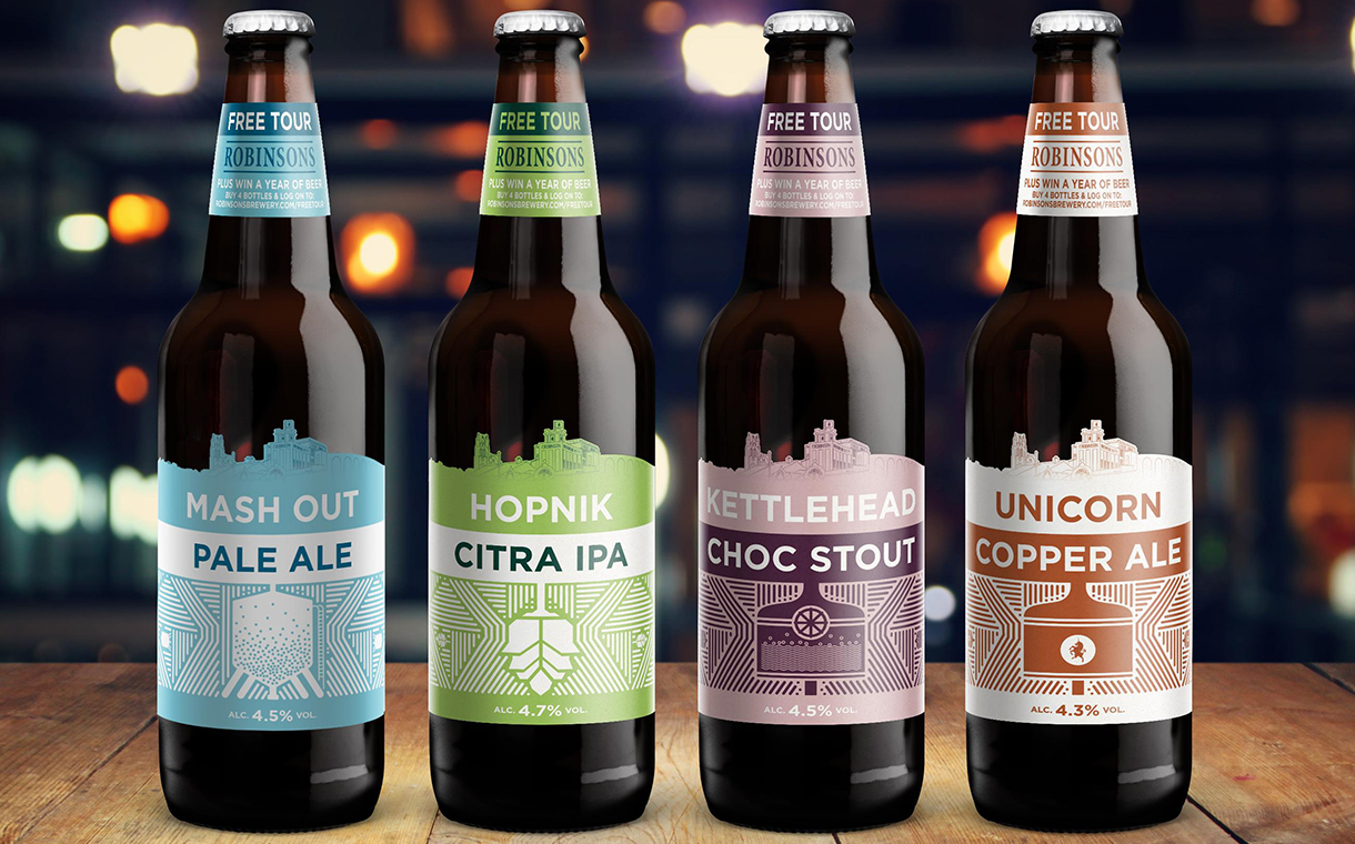 Robinsons Brewery Beer Given New Look By The Label Makers photo