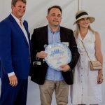 Chef Rudi Liebenberg Awarded with the Golden Vine Award at De Wetshof photo