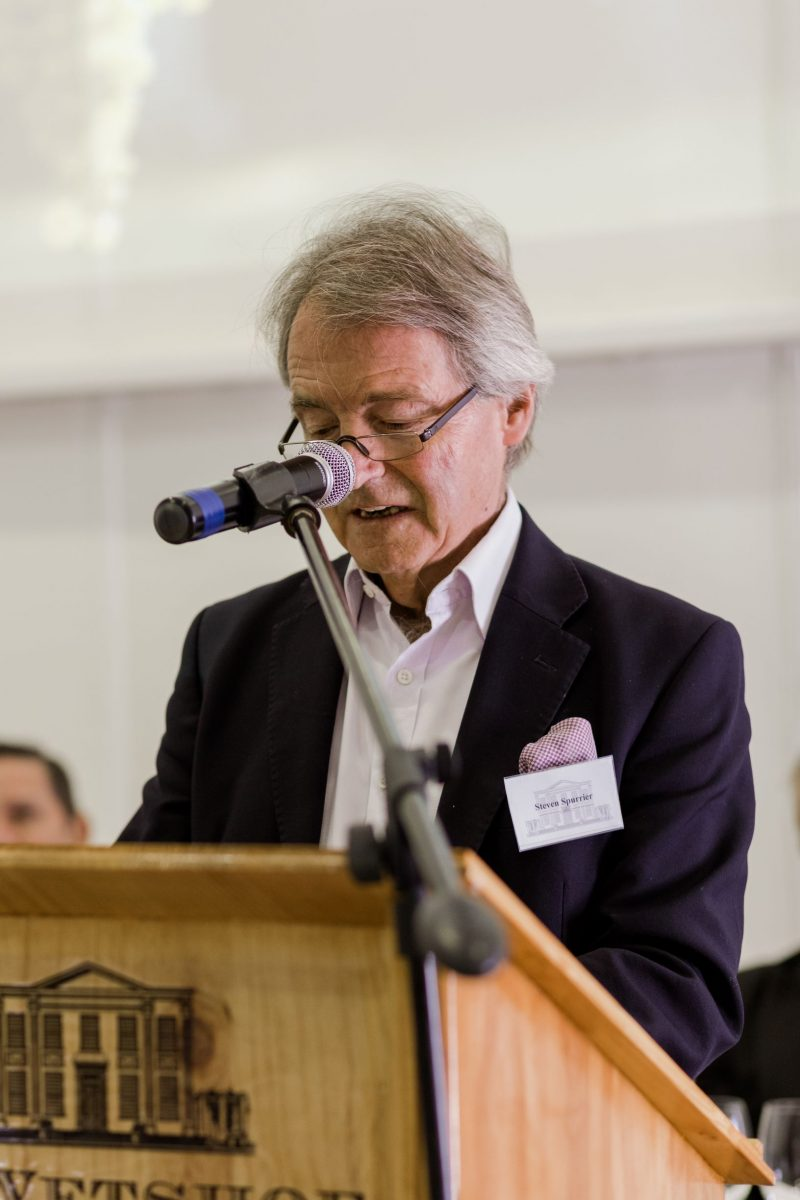 Steven Spurrier l e1542728049121 De Wetshof Celebrates The Chardonnay Icons Of South Africa