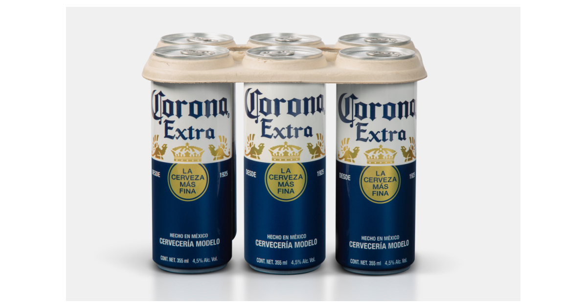 Corona Launches Plastic-free Six Pack Rings photo