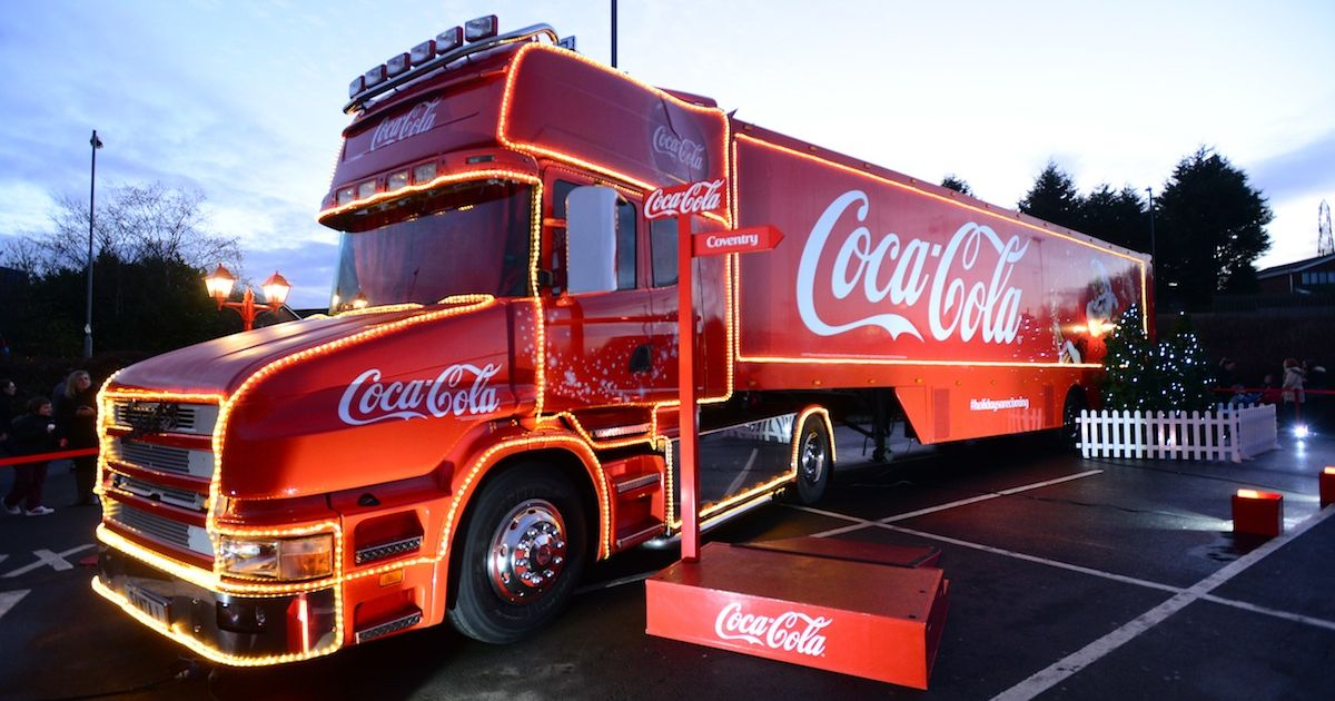 Dates And Locations For The Coca-cola Christmas Truck This Week photo