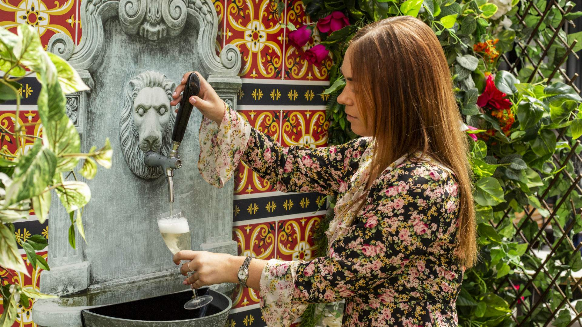 Surry Hills' The Winery Is Now Home To A Bottomless Prosecco Fountain photo