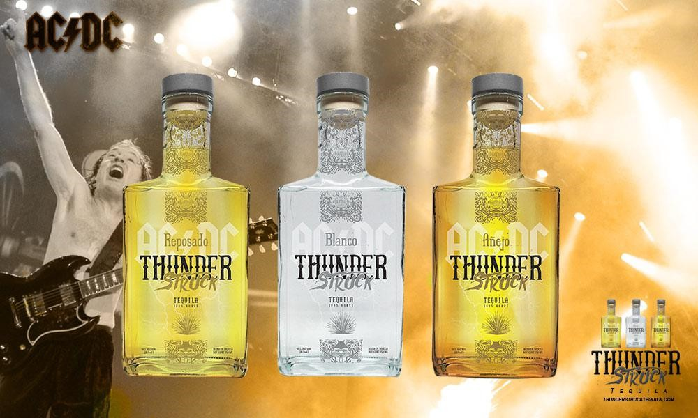 Rock band AC/DC is expanding availability of their Thunderstruck Tequila photo
