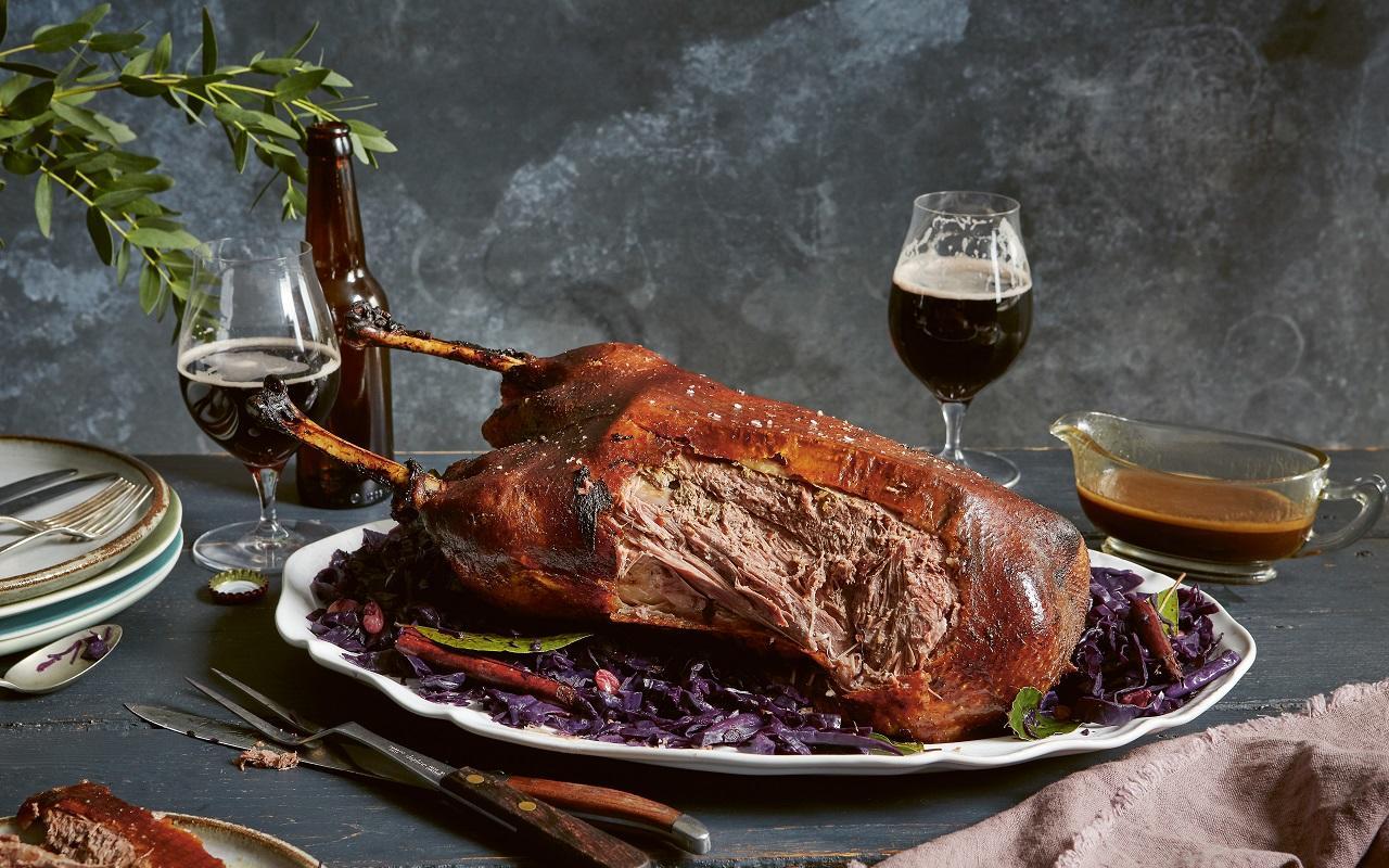 Ale-roast Goose Recipe photo
