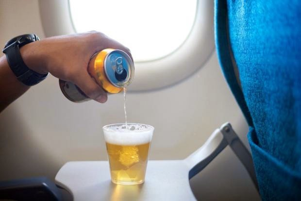 Why beer tastes bad on a plane photo