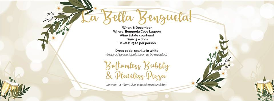 Join Benguela Cove for bottomless bubbly and plateless pizza on 8 December photo