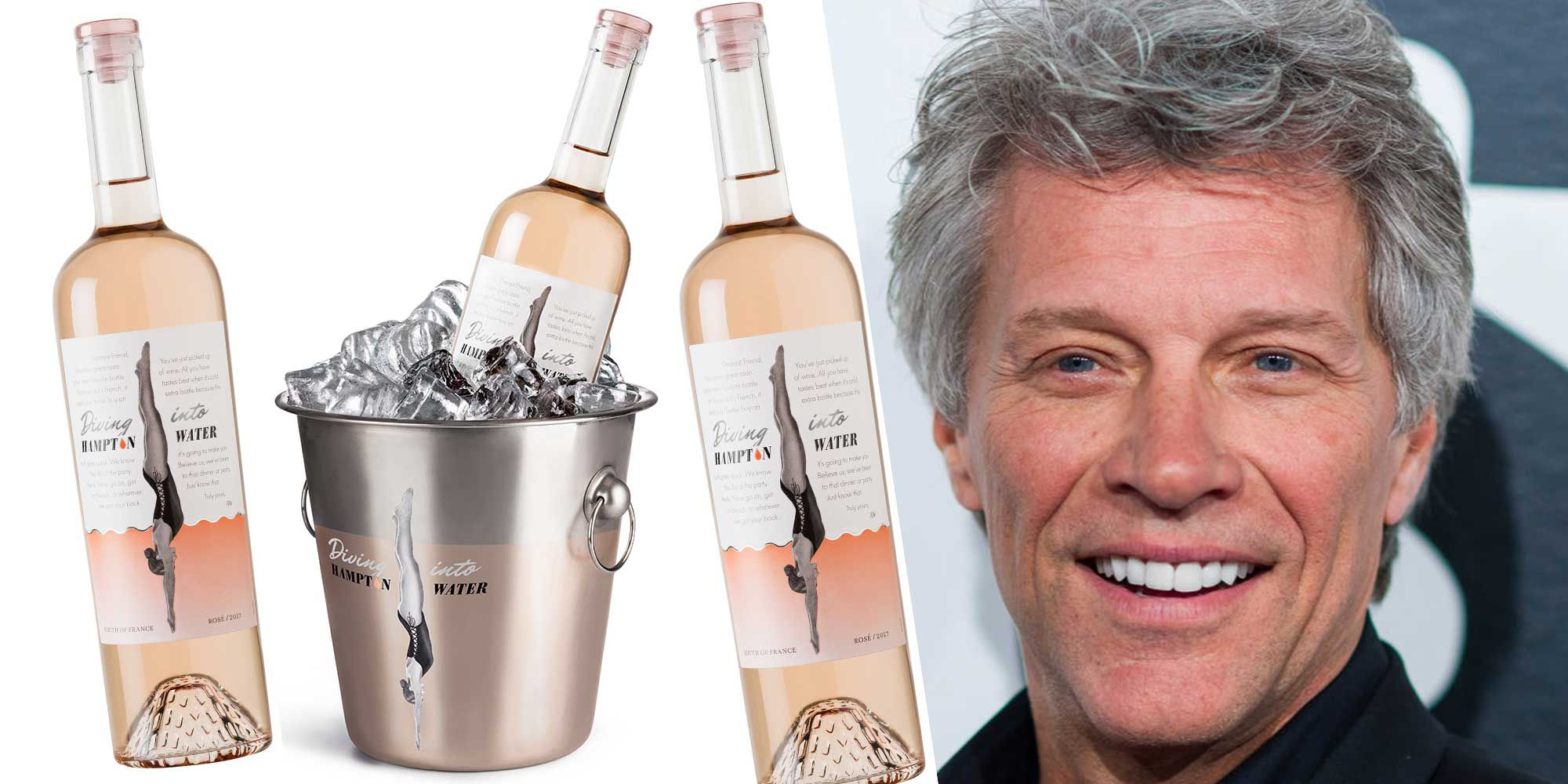 Jon Bon Jovi`s Wine Named Best Rosé Of The Year By Wine Spectator photo