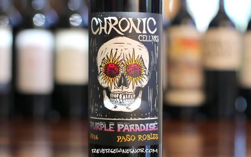 Chronic Cellars Purple Paradise photo