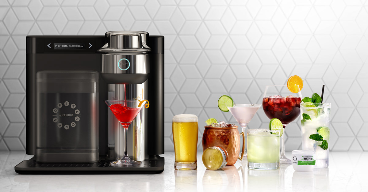Ab Inbev Wants To Sell You A Keurig For Pre-mixed Cocktails photo
