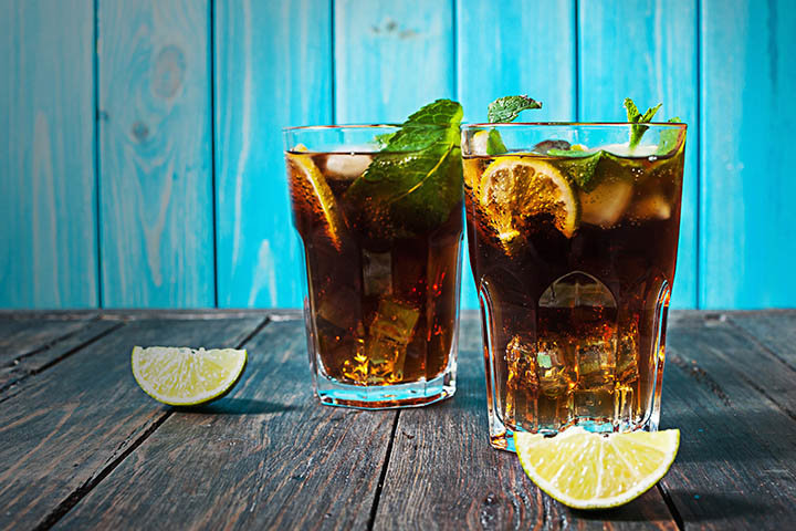 cuba libre bacardi 720x480 7 Two ingredient Cocktails That Taste and Sound Fancy