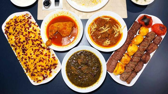 Dark Blue: The Persian Restaurant Too Popular For Its Own Opening photo