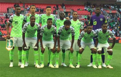 Nb Plc Charges Eagles To Beat South Africa photo