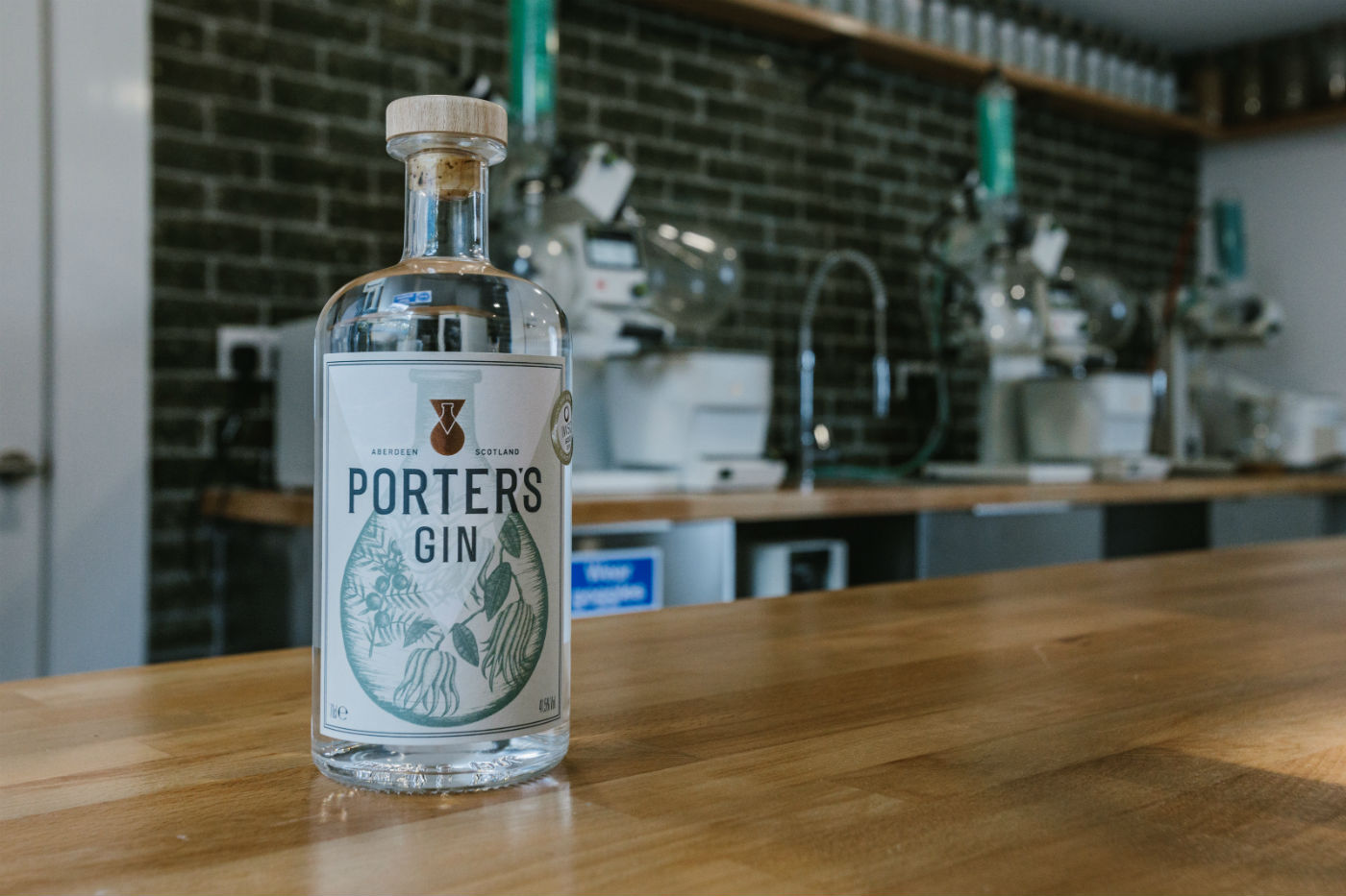 Aberdeen's Porter's Gin Opens Its Doors To The Public And Releases Much Anticipated 'tropical Old Tom' photo