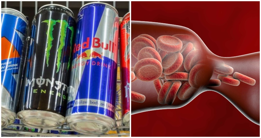 New Study Reveals That Drinking Just One Energy Drink Narrows Blood Vessels In 90 Minutes photo