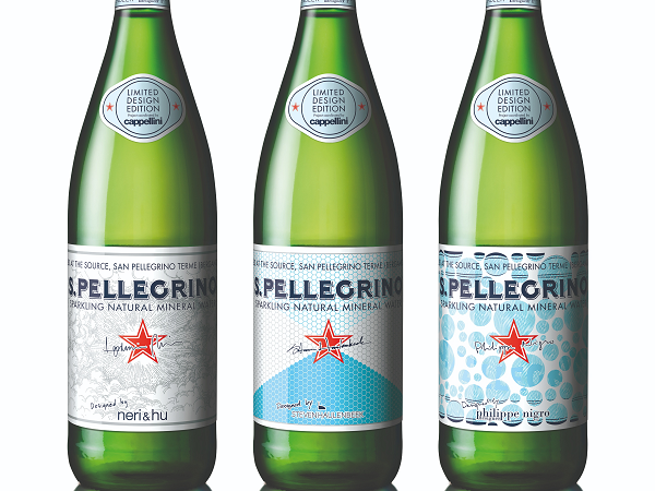S.pellegrino Unveils 3 Limited Edition Bottles With Bespoke Labels photo