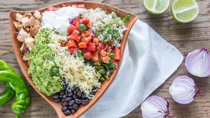 How A 'flexitarian' Burrito Bowl Helped Uni Students Eat More Veggies photo