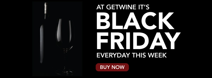 It's Black Friday Sale at Getwine, every day of week! photo