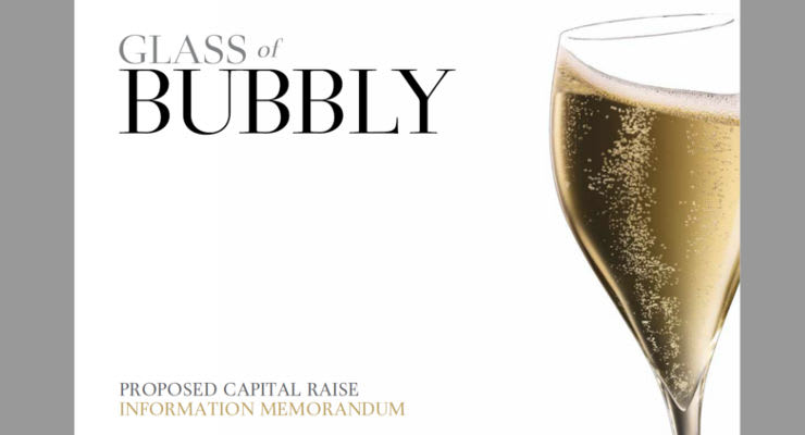 Your Chance To Be Part Of Glass Of Bubbly photo