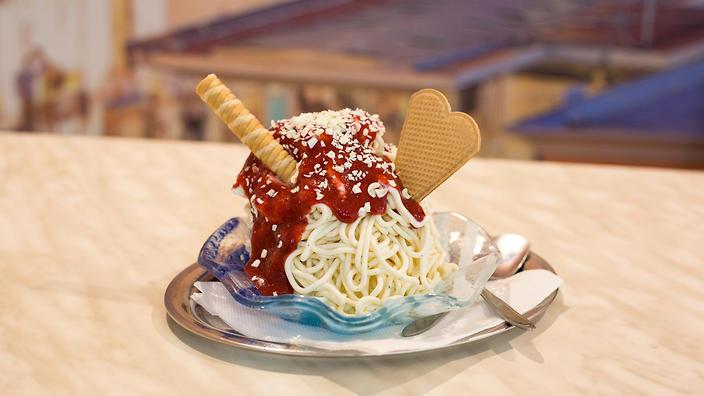Spaghetti Ice Cream Has Landed In Melbourne photo