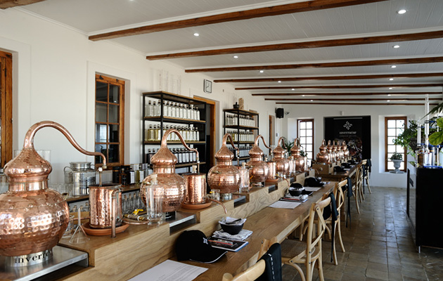 inveroche interior 5 Most Beautiful South African Distilleries