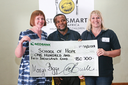 StreetSmart hands over R1 million in aid of Cape Town's vulnerable children photo