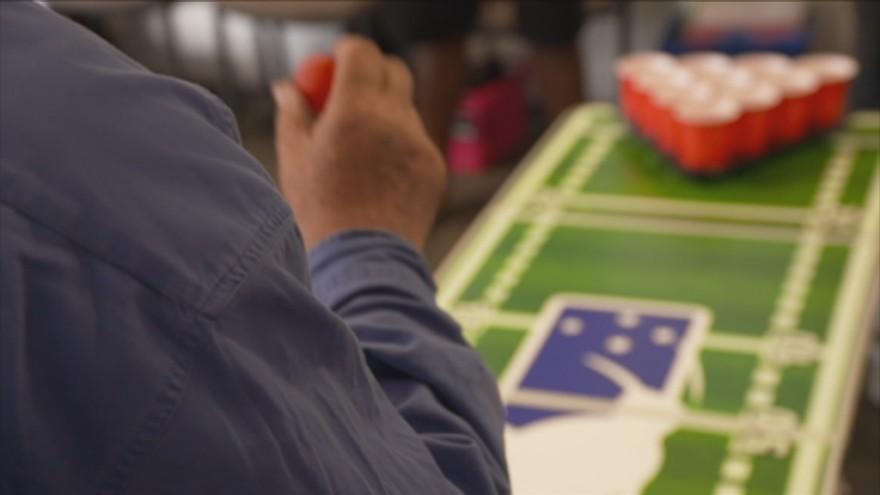 Watch: Meet The Senior Citizen 'beer Pong' Players Replacing Alcohol With Tea photo