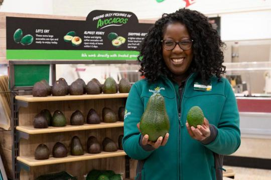morrisons giant avocado 3 0c2d UK Supermarket Launches Giant 1kg Avocados The Size Of Emu Eggs