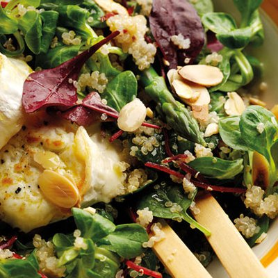 nutty quinoa salad with goats cheese hero umwbxdw  400x400 q85 autocrop crop subsampling 2 upscale 5 Summer Salads with the beachhouse wines that will blow your guests away