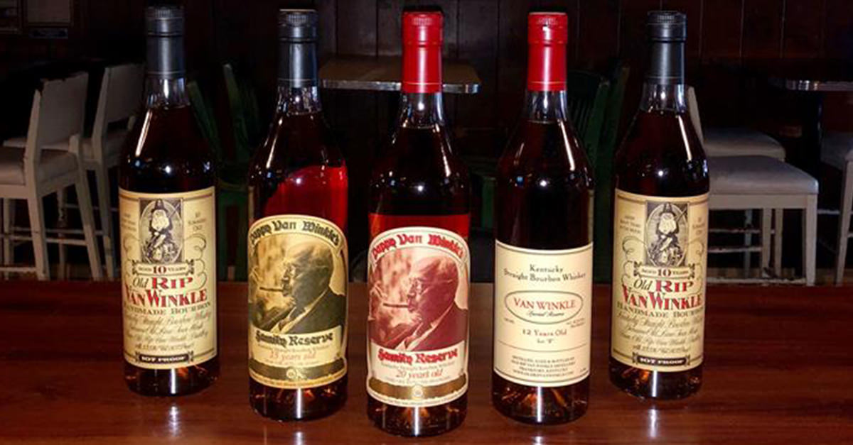 Pappy Thanksgiving: This Bar Is Giving Away Its Pappy Van Winkle Stock For Cheap photo