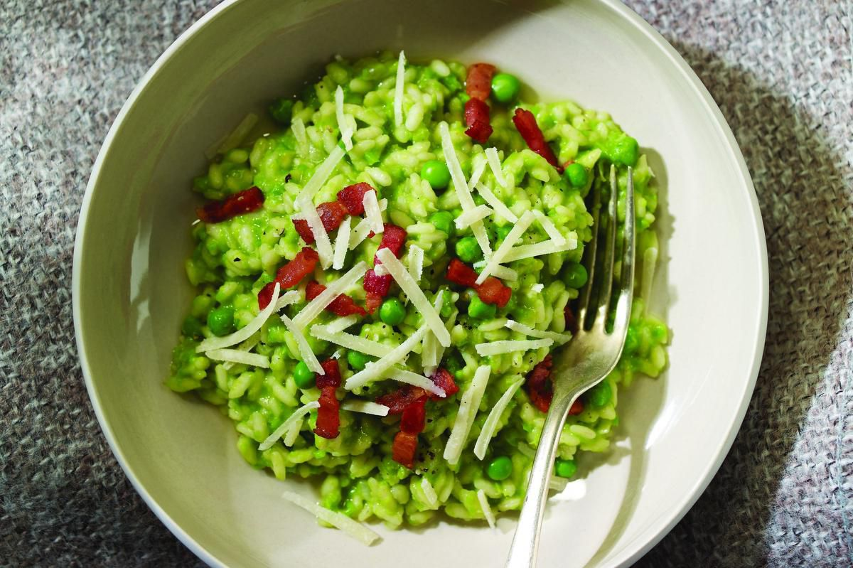 Next-level Rice And Peas As Risotto photo