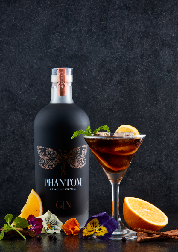 The Best Way To Enjoy Phantom Gin – South Africa's First And Only Black Gin photo