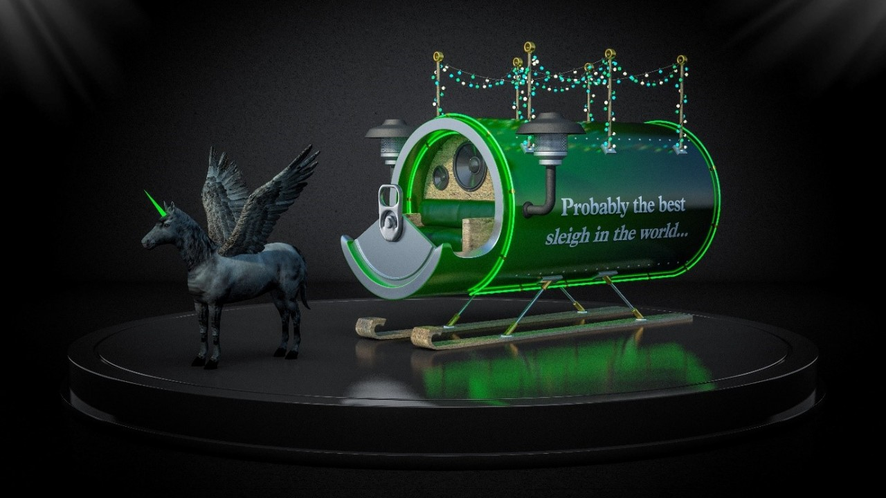 What If Ikea, Apple And Carlsberg Redesigned Santa's Sleigh? photo