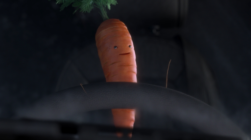Aldi's Kevin The Carrot Returns In A Spoof Of The Coca-cola Christmas Truck Ad photo