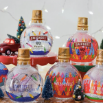 These glass ornament baubles filled with vodka are NOT made for your Christmas tree photo